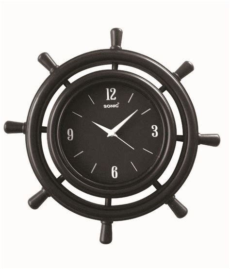 brown wall clocks contemporary sonic brown blue pottery contemporary wall clocks buy