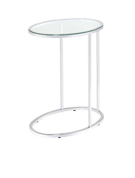 chrome accent tables chrome accent table 902927 coaster furniture