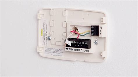 emerson sensi thermostat wiring diagram typical thermostat