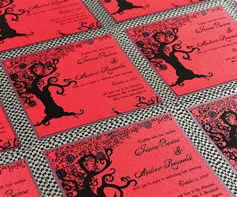 tim burton wedding invitations these wedding invites tim burton esque tim
