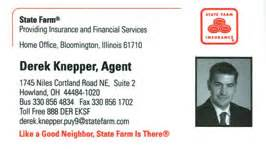 state farm business card bni busness networking trumbull county ohio