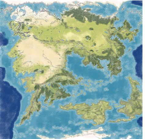 entire middle earth map category third age the notion club archive fandom