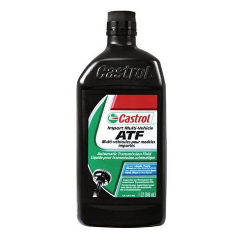 Toyota Atf Type T Iv Oli Perlumas 946 Ml castrol import multi vehicle automatic transmission fluid atf 946ml walmart ca