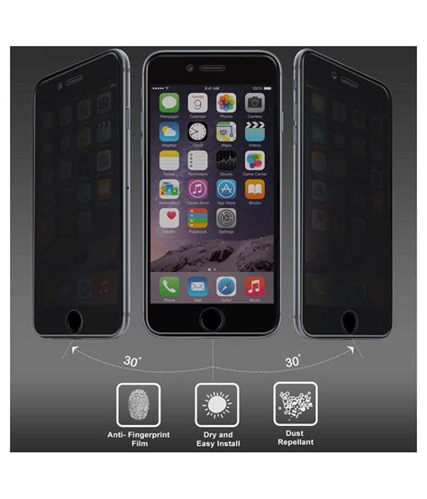 Screen Guard Tempered Glass Iphone 6 Plus amzer tempered glass screen guard for apple iphone 6 plus