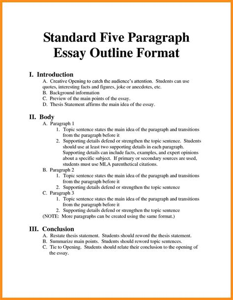 sle 5 paragraph essays sle essay introduction paragraph 28 images