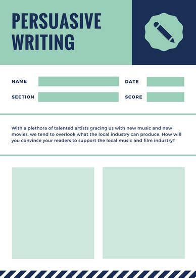 Usna Essay Prompt by Design Templates Canva