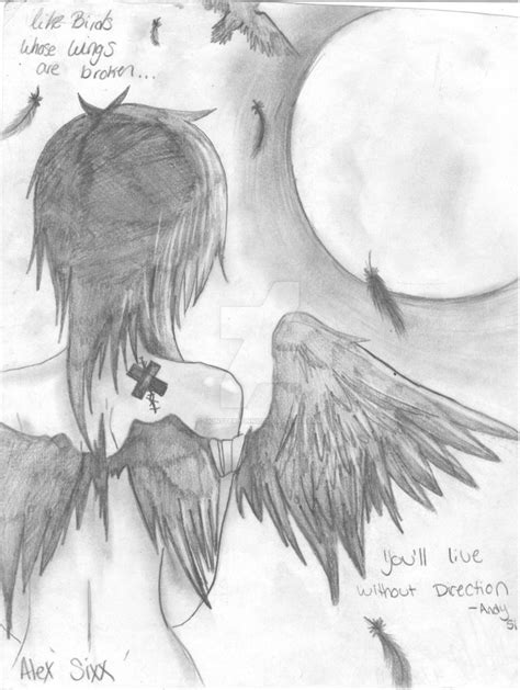A Broken Wing bird with broken wing