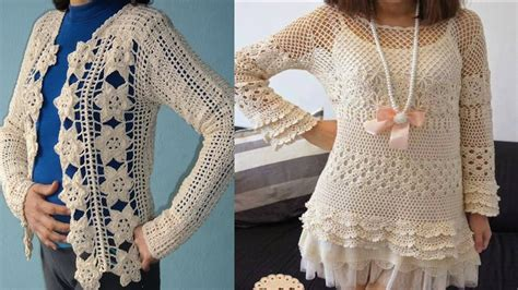 vestidos  blusas de mujer tejidos  crochet  youtube