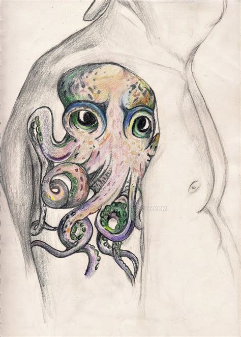 john frusciante tattoos frusciante octopus by anibabani on deviantart