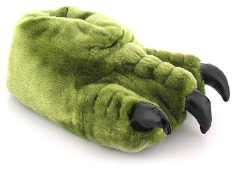 Eagles Bedroom Slippers Buy Boys Big Foot Claw Novelty Ape Animal