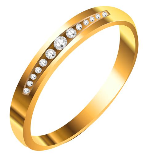 gold ring with diamonds png clipart gallery yopriceville