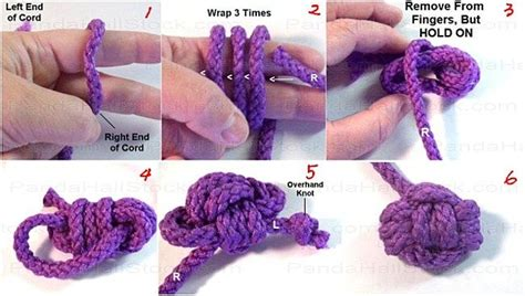 How To Macrame Knots Step By Step - 8 best images about macrame craft ideas on