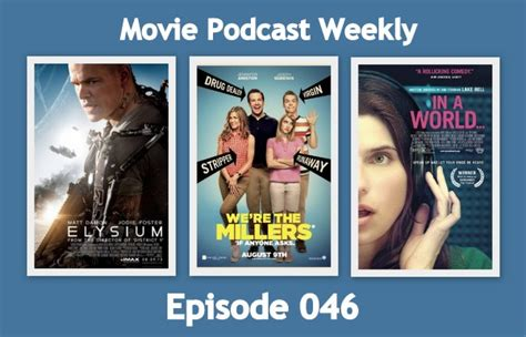 film magic hour episode terakhir movie podcast weekly ep 046 elysium 2013 and we re the