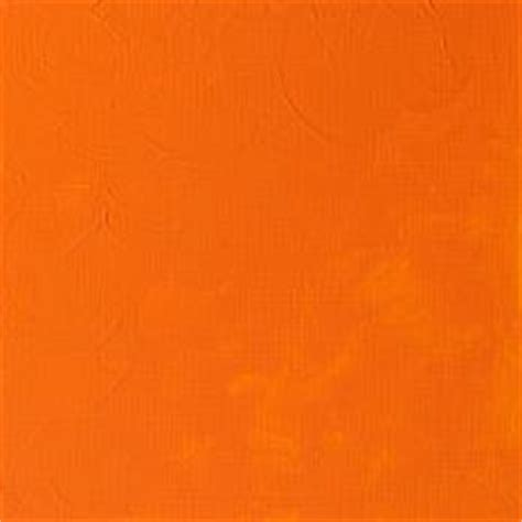hues of orange griffin fast drying colour winsor newton