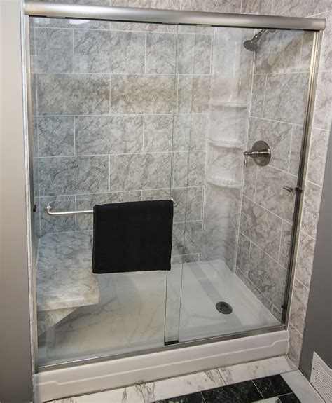 Shower Stalls With Seat Image Of Shower Stalls And Kits Bathroom Shower Stalls With Seat