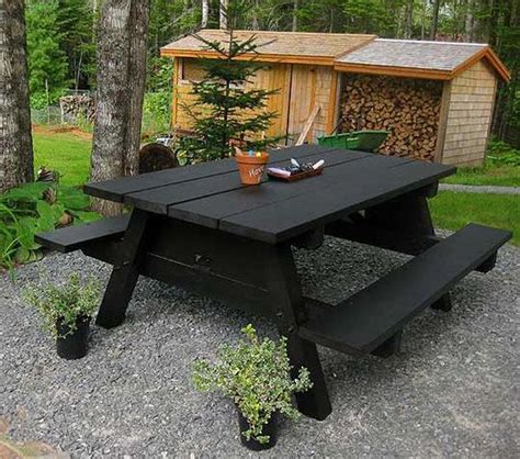 cool painted picnic tables how to decorate the yard with a picnic table