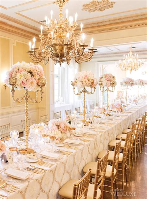 candelabra centerpieces with flowers glam candelabra centerpieces topped with flowers onewed