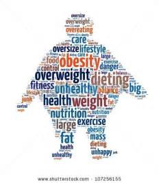 Obesity in word collage stock photo 107256155 shutterstock
