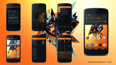 themes paranoid android paranoidandroid final rom featuring android 4 4 4 arrives