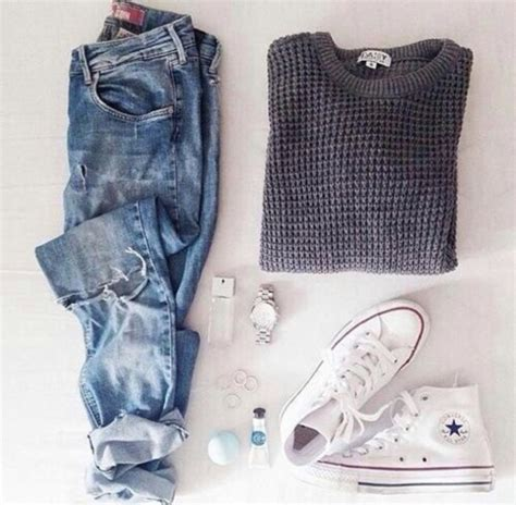 Sweater Converse Sweater Converse Murah Converse Black Grey jewels shoes sweater grey sweater purple and