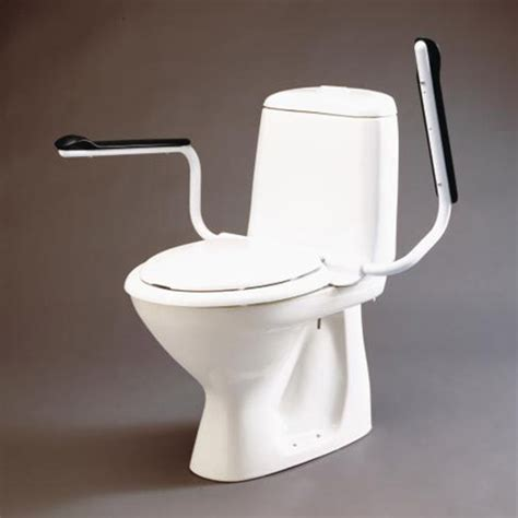 toilet seat with arms etac toilet supporter with arms raised toilet seats with