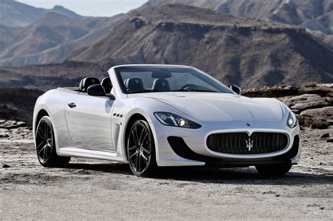 maserati gt convertible 2017 maserati granturismo convertible pricing for sale