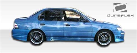Toyota Corolla 93 97 93 97 Toyota Corolla Bomber Duraflex Front Kit Bumper