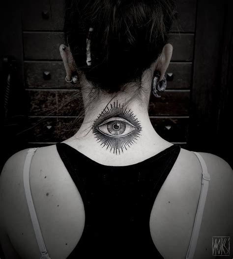 tattoo eye on neck eye neck tattoo best tattoo design ideas