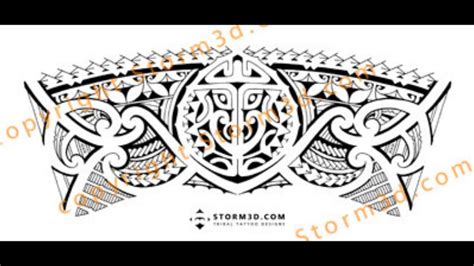 tribal armband legband tattoo design how to make a