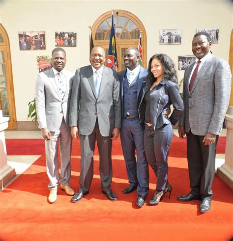 akon house all photos of president uhuru and akon in state house