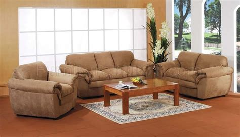microfiber living room furniture tan microfiber living room set
