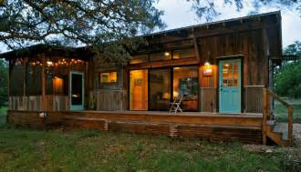 Tiny Home Cabin Beautiful Reclaimed Cabin With Modern Comforts Tiny