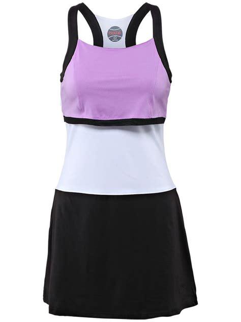 Home Inspiration purple white and black tennis dress jld studios apparel