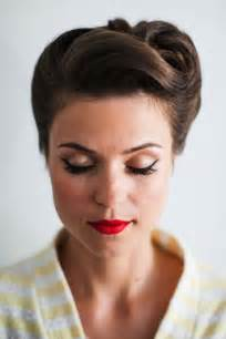 50s updo hairstyles 20 elegant retro hairstyles 2017 vintage hairstyles for