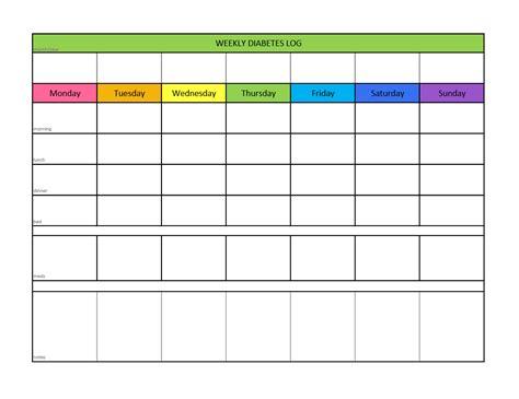 diabetic diary template diabetes log sheets printable free new calendar template