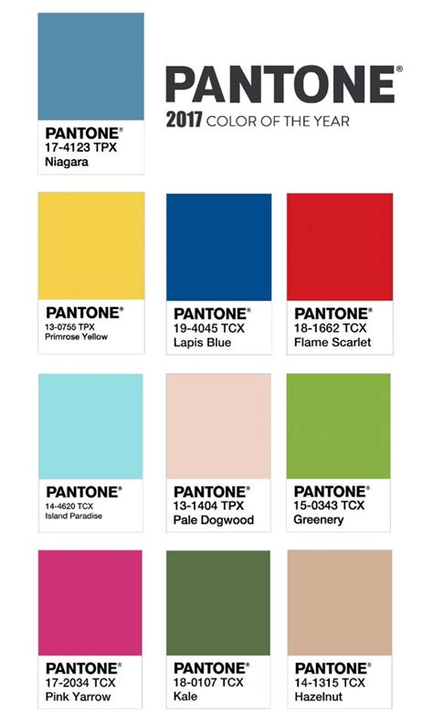color for 2017 tend 234 ncias cores ver 227 o 2017 pantone no papo das gurias