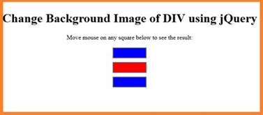 div background color using jquery change background color of div programming