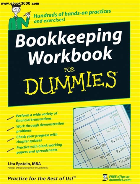 Mba Basics For Dummies by Bookkeeping Workbook For Dummies Free Ebooks