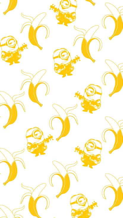 wallpaper banana for iphone minions meet bananas download the wallpaper for your