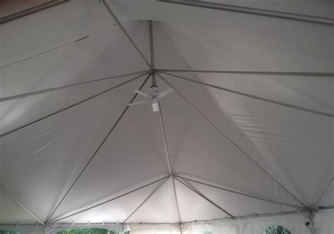 Tent Ceiling Fan by Wedding Accessories Table Rentals Chair Rentals