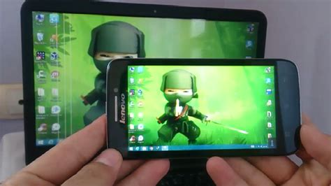 android screen mirroring to pc how to mirror your android mobile screen to window pc