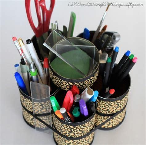 7 Creative And Useful Diy Desk Organizers Diy Desk Organizers
