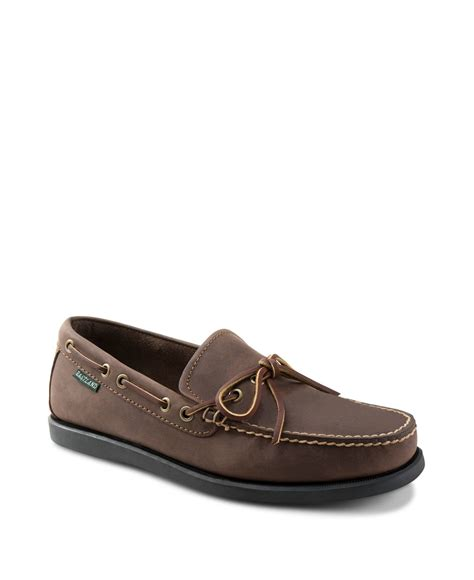 eastland boat shoes eastland 1955 edition yarmouth boat shoes in brown for