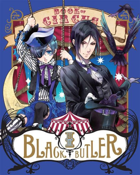 black butler book of circus crunchyroll quot black butler quot artist illustrates