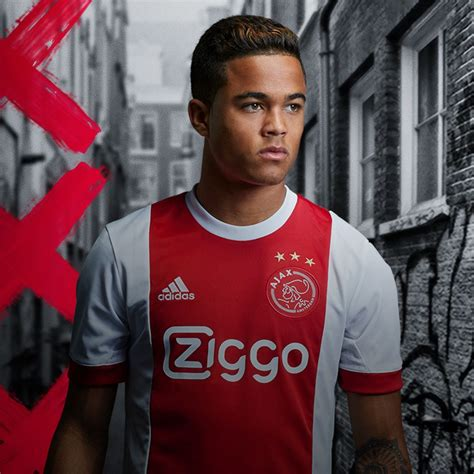 Jersey Ajax Amsterdam Away 2017 18 ajax 2017 18 adidas home kit 17 18 kits football shirt