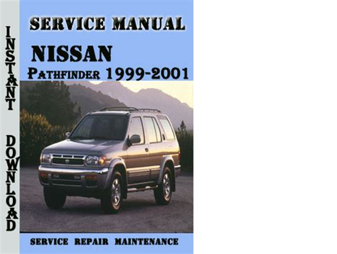 service manual 1999 nissan pathfinder manual free download service manual download car