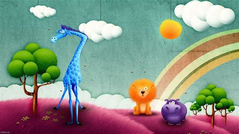 desktop themes cartoons cute cartoon wallpapers wallpaper cave