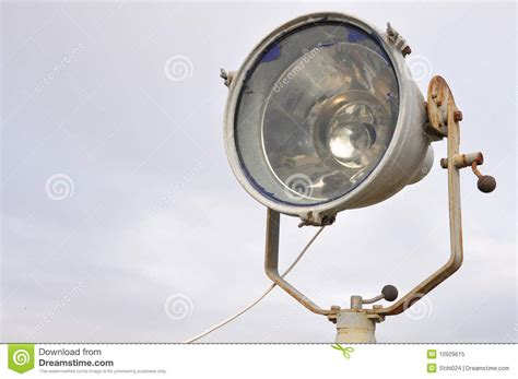 old boat spotlights marine spotlight royalty free stock photo image 10929615