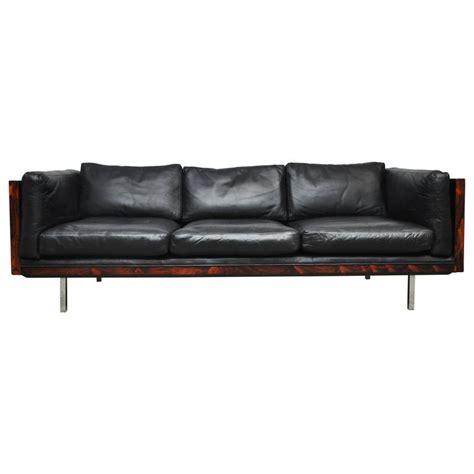 milo baughman rosewood case sofa rosewood case sofa by milo baughman for sale at 1stdibs
