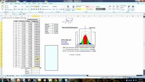 standard deviation template 8 standard deviation excel template exceltemplates